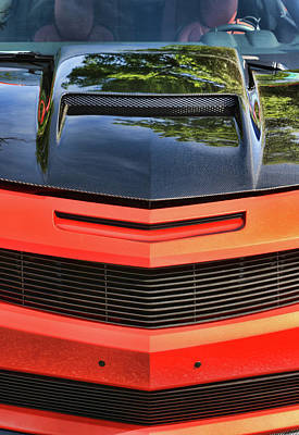 Photograph - 2010 Chevy Camaro # 3 by Allen Beatty