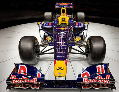 Photograph - 2010 Red Bull F1 by Steve Zimic