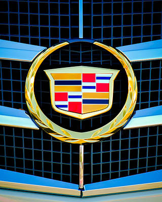 2011 Cadillac Cts Performance Collection -0584c45 Art Print by Jill Reger