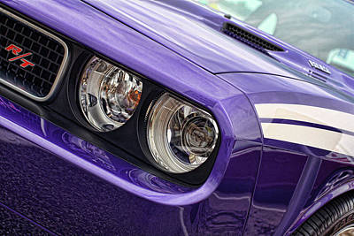 2011 Dodge Challenger Rt Art Print