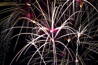 2011 Fireworks Art Print by Robert  Torkomian