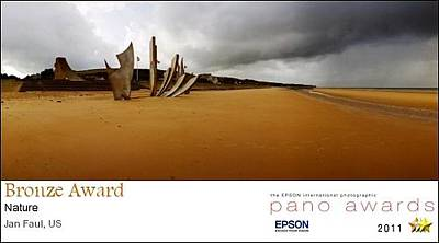 Photograph - 2011 Pano Awards Bronze Medalist - Omaha Beach by Jan W Faul