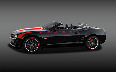 Photograph - 2012 Chevrolet Camaro Super Sport Convertible   -   2012sscamarocvfa170180 by Frank J Benz