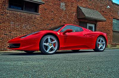 Art Print featuring the photograph 2012 Ferrari 458 Spider by Tim McCullough