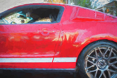 Photograph - 2012 Ford Mustang Gt 500 Svt   by Rich Franco
