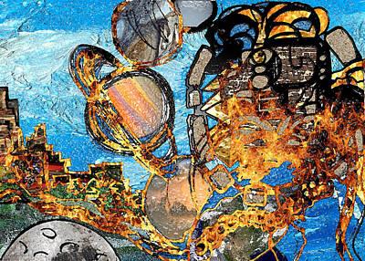 Universal System Digital Art - 2012 by Jorge Delara