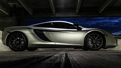 Photograph - 2012 Mclaren Mp4-12c by Randy Scherkenbach