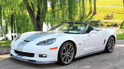 Photograph - 2013 60th Anniversary Special Corvette 427 by Simply  Photos