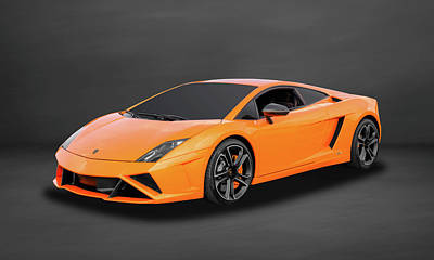 Photograph - 2013 Lamborghini Gallardo Lp560-4 Coupe  -  13lambcoupe53 by Frank J Benz