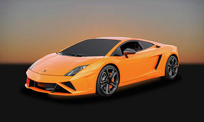 Photograph - 2013 Lamborghini Gallardo Lp560-4 Coupe   -   13lambocp33 by Frank J Benz