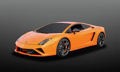 Photograph - 2013 Lamborghini Gallardo Lp560-4 Coupe  -  13lambocpe43 by Frank J Benz