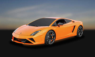 Photograph - 2013 Lamborghini Gallardo Lp560-4 Coupe   -   2013lambo23 by Frank J Benz