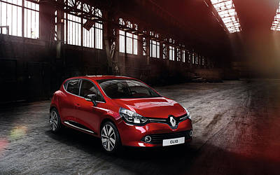 Renault Clio Digital Art - 2013 Renault Clio 3 Wide by F S