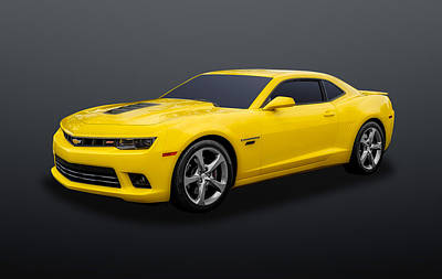 Photograph - 2014 Chevrolet Camaro Super Sport  -  2014chcamss01 by Frank J Benz