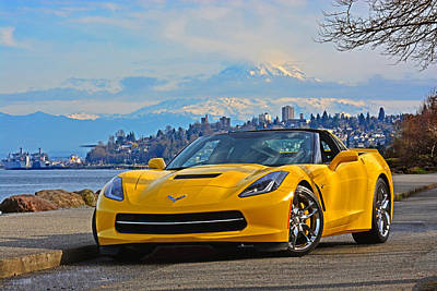 Photograph - 2014 Corvette by Jack Moskovita