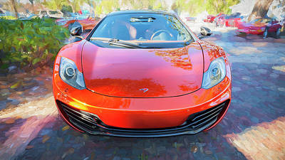 Photograph - 2014 Mclaren Mp4 12c Spider C192 by Rich Franco