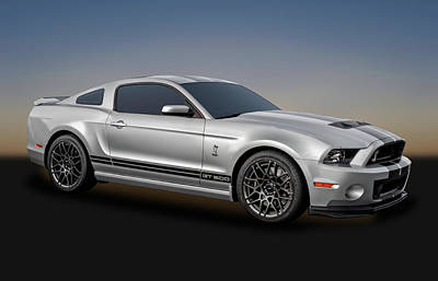 Photograph - 2014 Mustang Shelby Cobra Gt500  -  14mustang217-1a by Frank J Benz