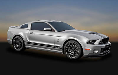 Photograph - 2014 Mustang Shelby Cobra Gt500  -  2014mustang217-3c by Frank J Benz