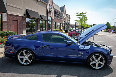 Photograph - 2014 Saleen 302 Mustang by Randy Scherkenbach