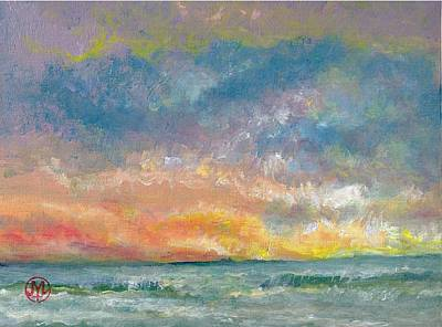 Painting - 2014 Seascape by Joe Leahy