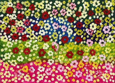 2014 The Blossoming Flowers 08 Art Print by Danny S Y Lee