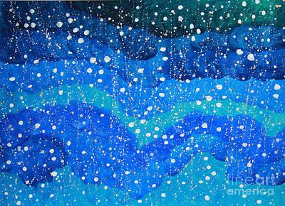2014 The Blue Starry Sky Of The Milky Way  Original