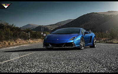 550 Digital Art - 2014 Vorsteiner Lamborghini Gallardo Lp 550 Renazzo Wide by F S