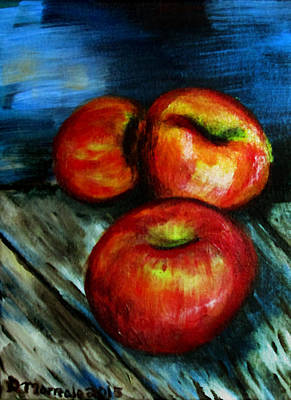 Painting - 2015 Apples 1 by Denny Morreale