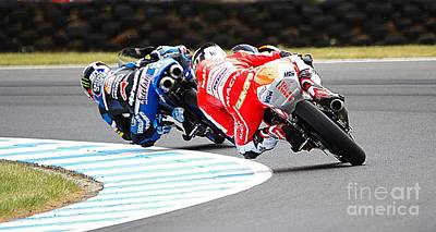 Photograph - 2015 Aussie Moto Grand Prix by Blair Stuart