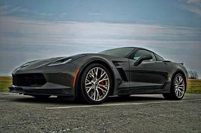 Photograph - 2015 Corvette Z06 by Tim McCullough