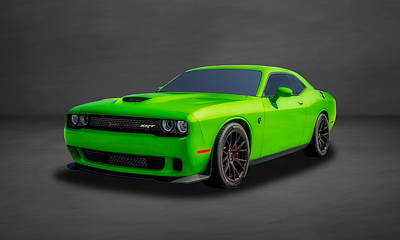 Photograph - 2015 Dodge Challenger Srt Hellcat  -  Dgch33 by Frank J Benz
