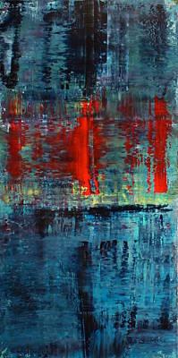 Quinn Painting - 2015 Zeitgeist 12 by Michael Quinn