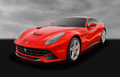 Photograph - 2015 Ferrari F12 Berlinetta Coupe - 1 by Frank J Benz