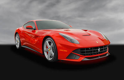 Photograph - 2015 Ferrari F12 Berlinetta Coupe - 2 by Frank J Benz