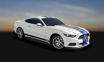 Photograph - 2015 Ford Mustang Gt 5.0   -   15fdmustang143 by Frank J Benz