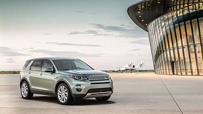 Spaceport Digital Art - 2015 Land Rover Discovery Sport Spaceport  1 by F S