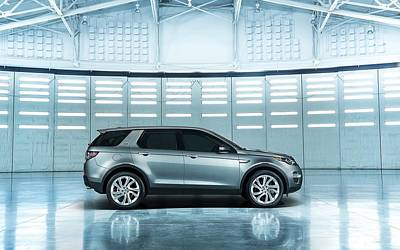 Spaceport Digital Art - 2015 Land Rover Discovery Sport Spaceport 2  1 by F S