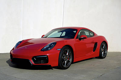 Photograph - 2015 Porsche Cayman Gts by Tim McCullough