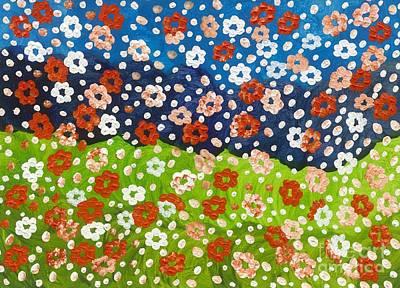 2015 The Blossoming Flowers 01 Original