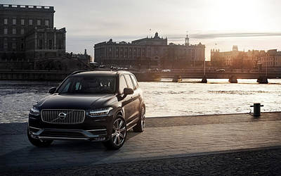 First Edition Digital Art - 2015 Volvo Xc90 First Edition Wide by F S