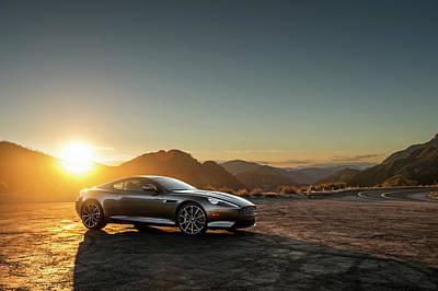 Photograph - 2016 Aston Martin Db9 Gt by Drew Phillips