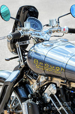 Photograph - 2016 Brough Superior Ss100 Motorcycle by Tim Gainey