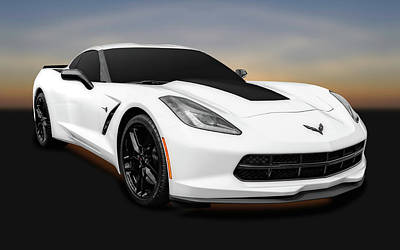 Photograph - 2016 C7 Chevrolet Corvette Coupe  -  2016chevroletcorvette0171 by Frank J Benz