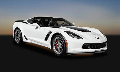 Photograph - 2016 C7 Chevrolet Corvette Zo6  -  2016c7zo69547 by Frank J Benz