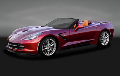 Photograph - 2016 C7 Z51 Chevrolet Corvette Stingray Convertible  -   2016z51c7chevycorvettegry170874 by Frank J Benz