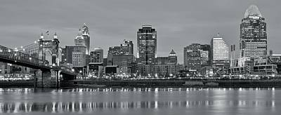 Photograph - 2016 Cincinnati Panorama by Frozen in Time Fine Art Photography