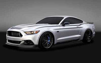 Photograph - 2016 Ford Mustang Spec 3 Rtr   -   _0172086_2016spec3rtrmustanggry172086 by Frank J Benz