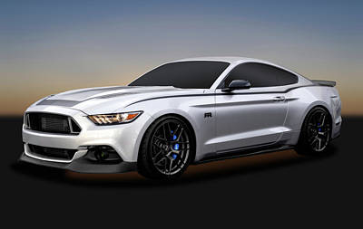 Photograph - 2016 Ford Mustang Spec 3 Rtr  -  2016mustangspec3rtr172086 by Frank J Benz