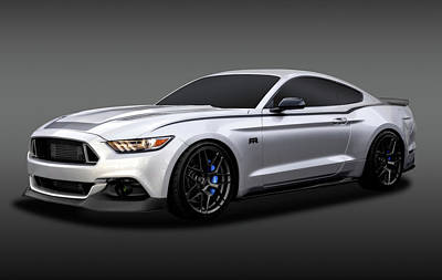 Photograph - 2016 Ford Mustang Spec 3 Rtr   -  2016rtrspec3mustangfa172086 by Frank J Benz