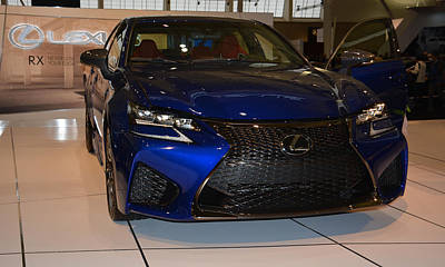 Photograph - 2016 Lexus Gs F by Mike Martin